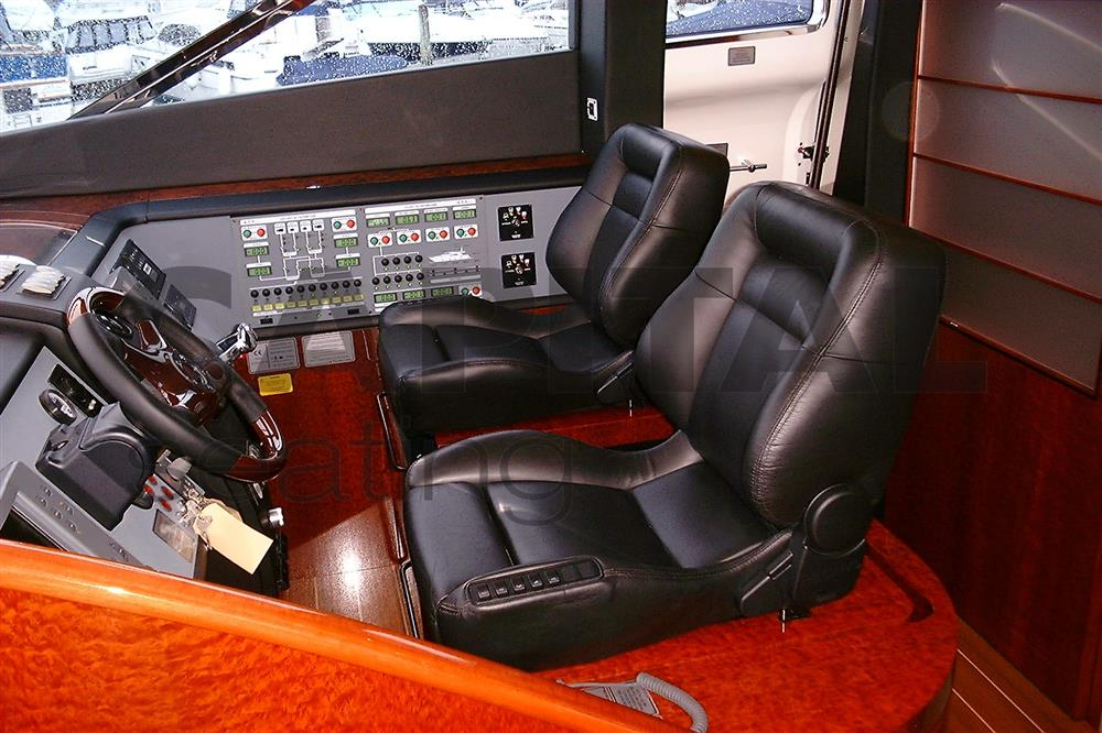 RECARO Ergomed DS seats supplied to Fairline Yachts