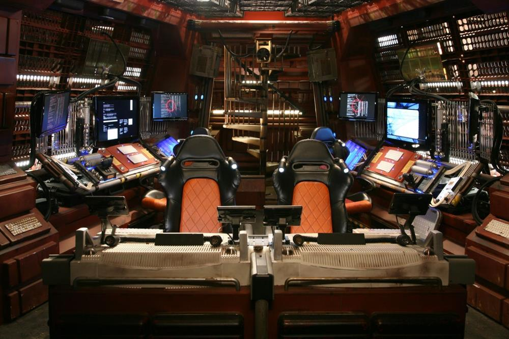RECARO Sport Trendline seats featured in the Red Dwarf TV Series (images courtesy of Grant Naylor Productions)