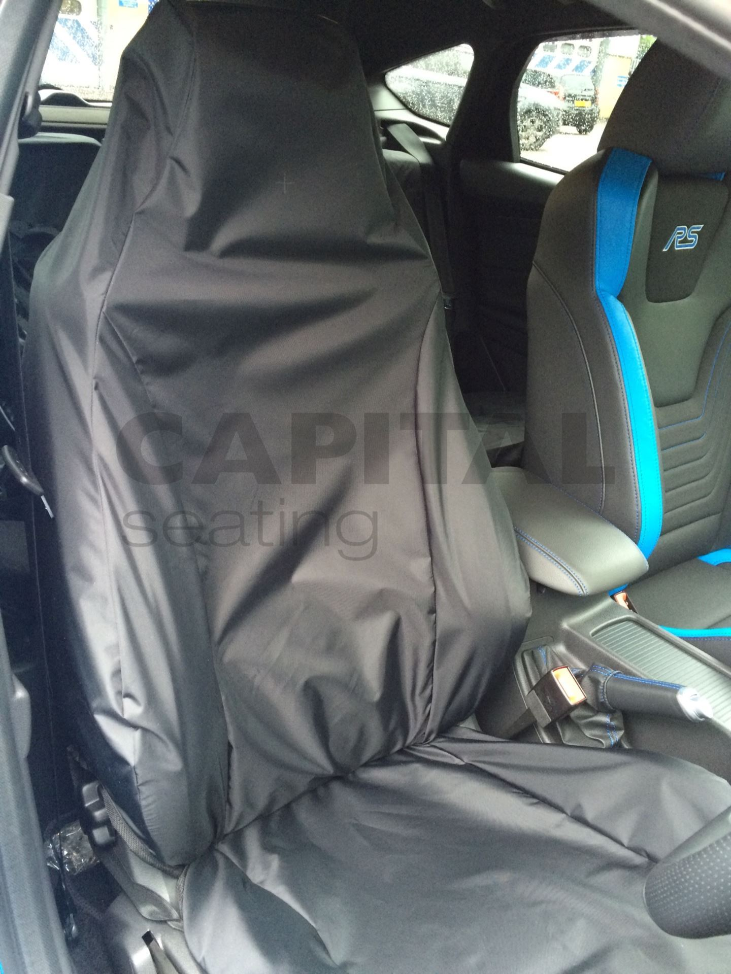 Capital Seating And Vision Seating Vision And Accessories For Hardworking Environments Ford Focus Rs Mk3 Standard Protective Seat Cover